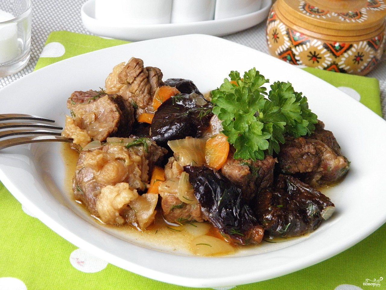 Тушеная морковь с черносливом рецепт 139