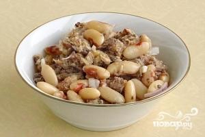 Салат из консервированной сардины - фото шаг 9