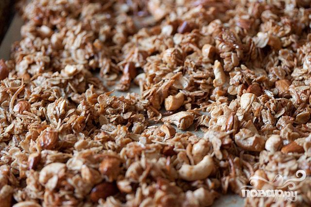 Кокосовая гранола - фото шаг 5