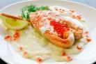 Сливочный соус к рыбе с икрой