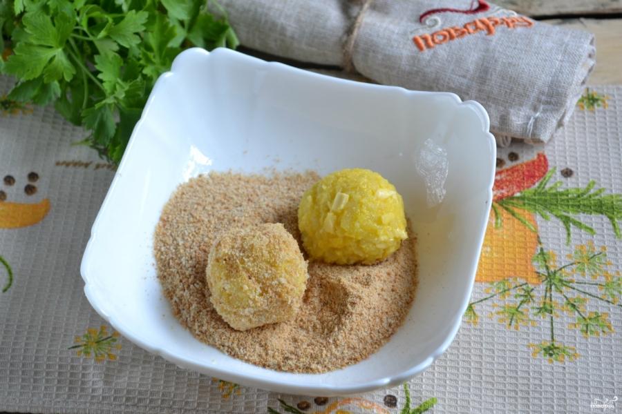 Как приготовить картофельные шарики с сыром рецепт