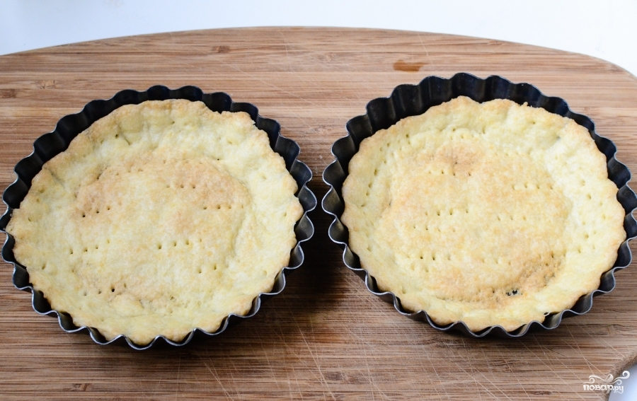 Тарталетки с сыром и помидорами - фото шаг 4