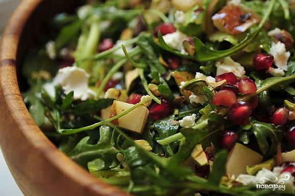 Салат с грушей и сыром - фото шаг 10