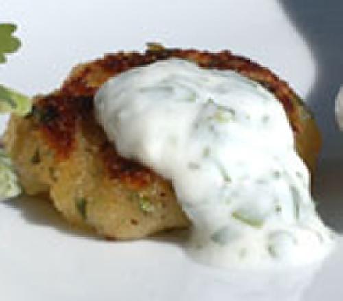 Сладкий картофель с йогуртом и кориандром - фото шаг 4