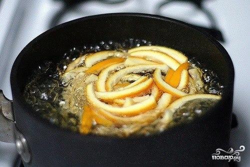Апельсиновые цукаты в шоколаде - фото шаг 3