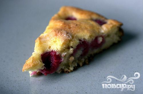 Пирог с малиной и пахтой - фото шаг 4