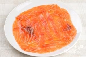 Карпаччо из лосося - фото шаг 6