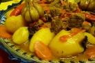Говядина с овощами в казане