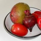 Рецепт Витаминный напиток из свеклы, манго и помидор