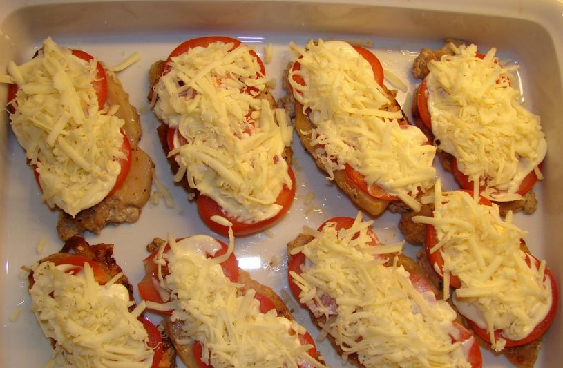 Отбивные в духовке с сыром - фото шаг 2
