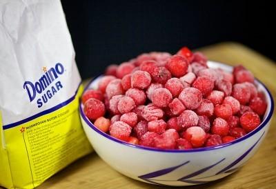 Рецепт Компот из замороженной вишни