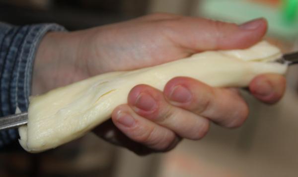 Шашлык из сулугуни - фото шаг 2