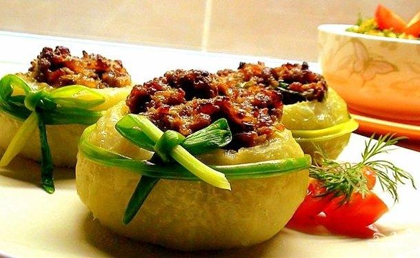 Рецепт Запеченная кольраби