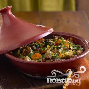 Рецепт Рагу из говядины в пароварке
