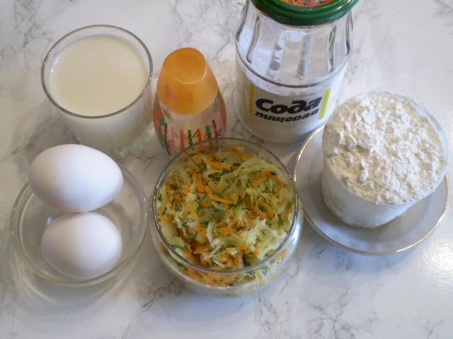 Рецепт Пирог с капустой для ленивых