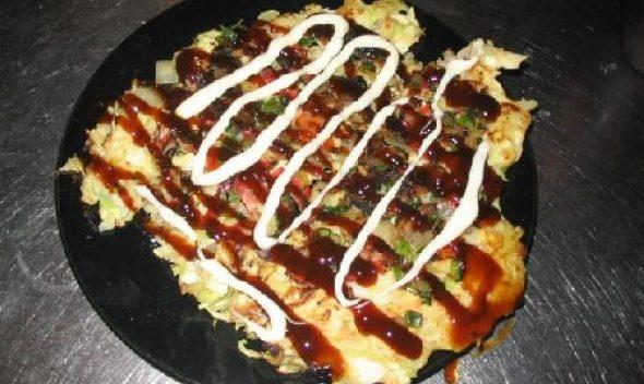 Японская пицца Окономияки (Okonomiyaki)