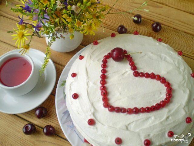 Торт на день рождения мамы