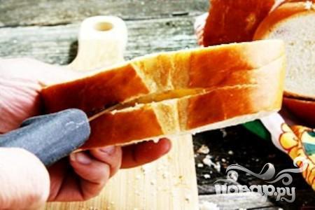 Французские тосты с фруктовой начинкой - фото шаг 1