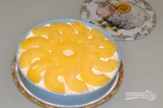 Салаты нежность с ананасом с фото