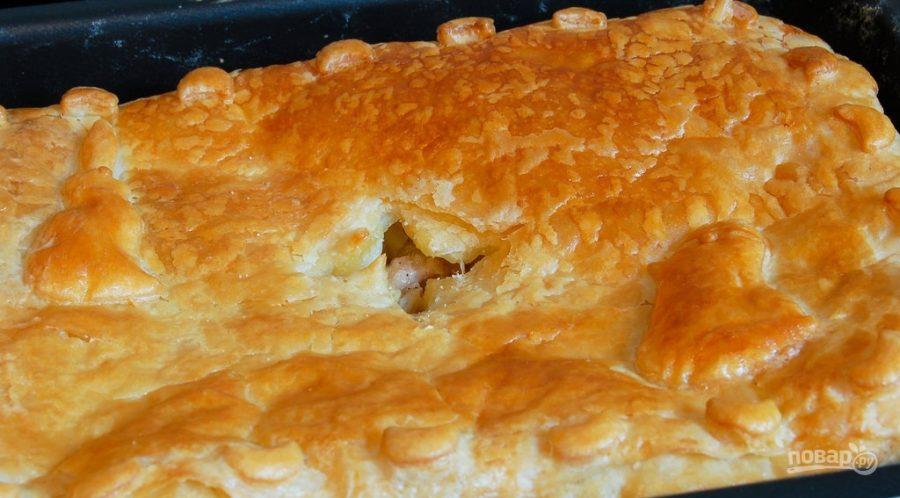 Пирог с капустой из кефира рецепт пошагово 26