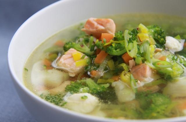 Суп из белой рыбы - фото шаг 3