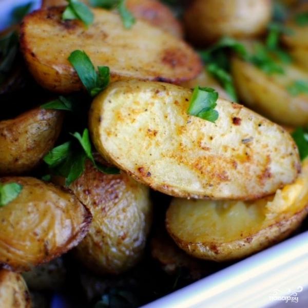 Пряный картофель по-французски - фото шаг 12
