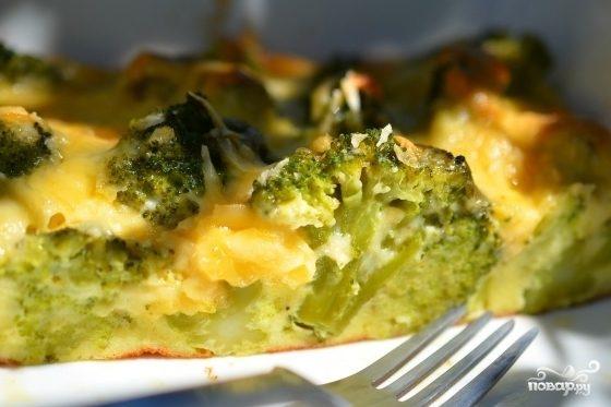 капуста брокколи запеканка в духовке рецепт
