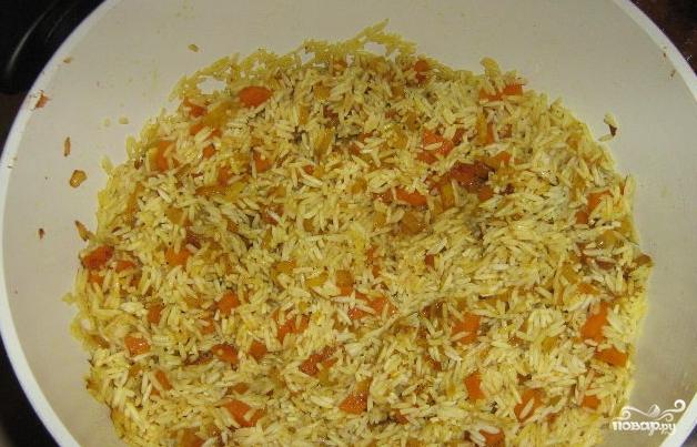 Рис по-индийски - фото шаг 4