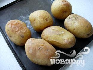 Запеченный картофель с травяным соусом - фото шаг 3