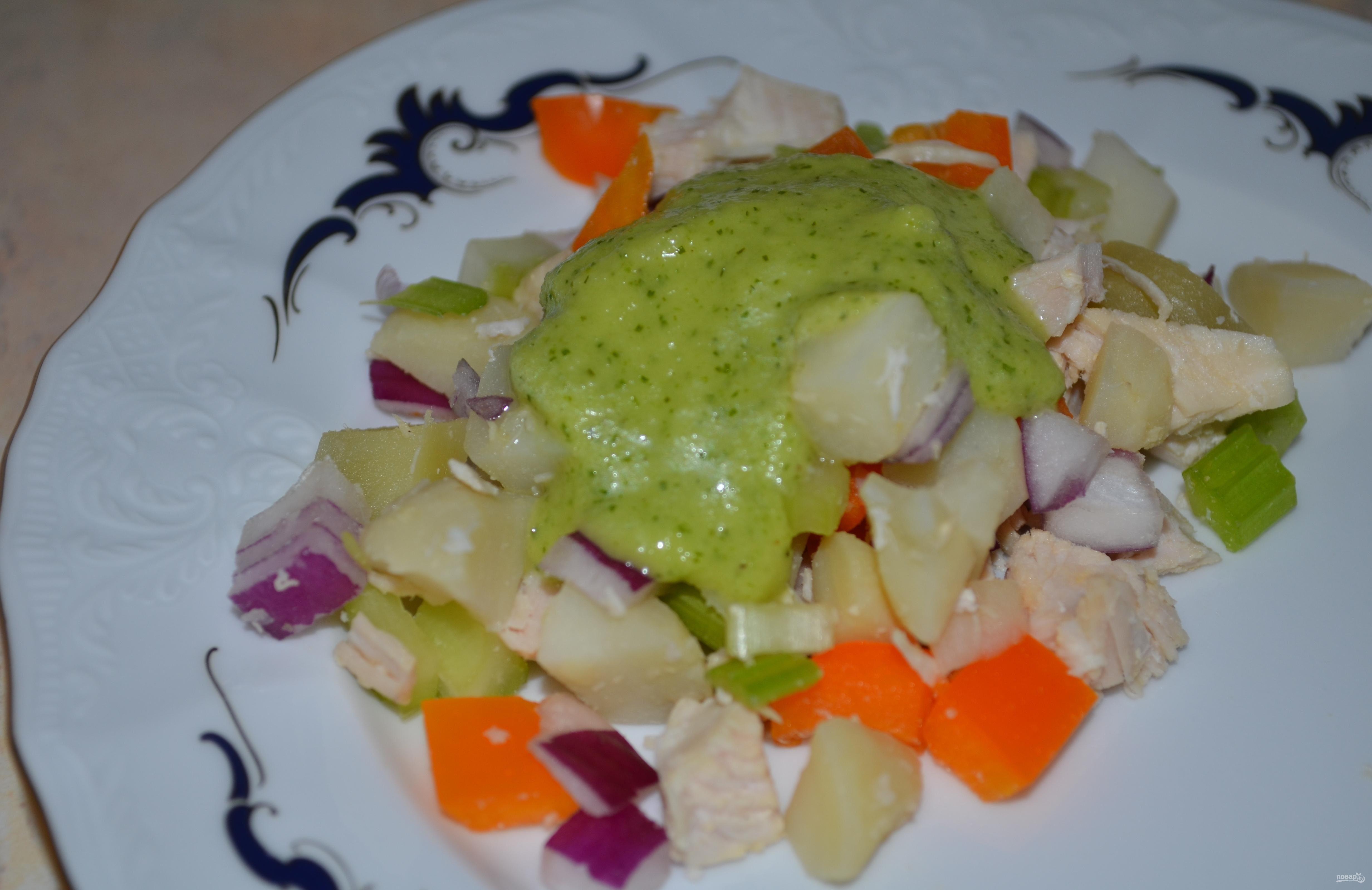 Лёгкие салаты без майонеза на праздничный стол рецепты
