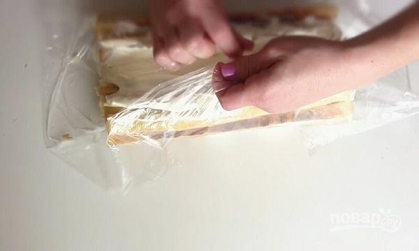 """Торт """"Полено"""" (самый простой рецепт) - фото шаг 8"""