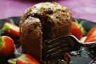 Шоколадный кекс с жидкой сердцевиной