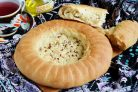 Узбекская лепешка