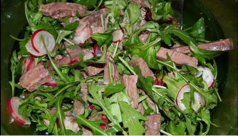 Мясной салат из говядины - фото шаг 4