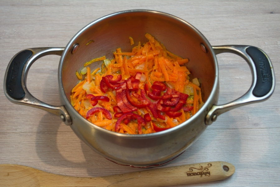 Суп на грибном бульоне - фото шаг 3