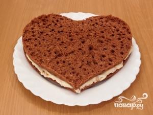 """Торт """"На день влюбленных"""" - фото шаг 7"""