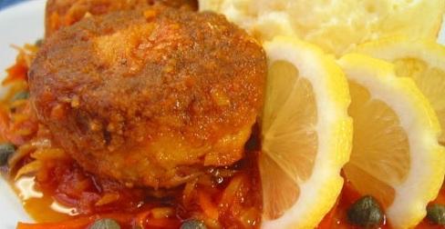 Котлеты рыбные в томатном соусе - фото шаг 6