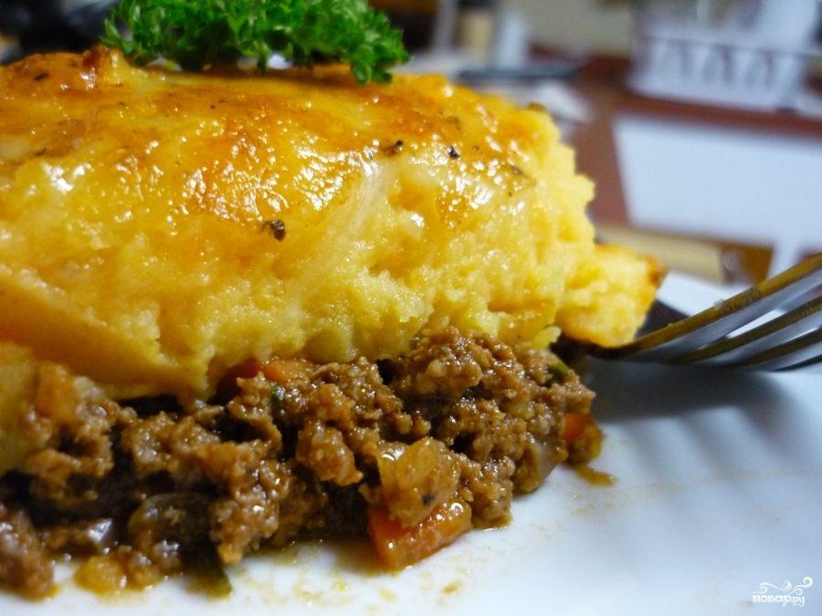Рецепт Картофельный пирог с фаршем