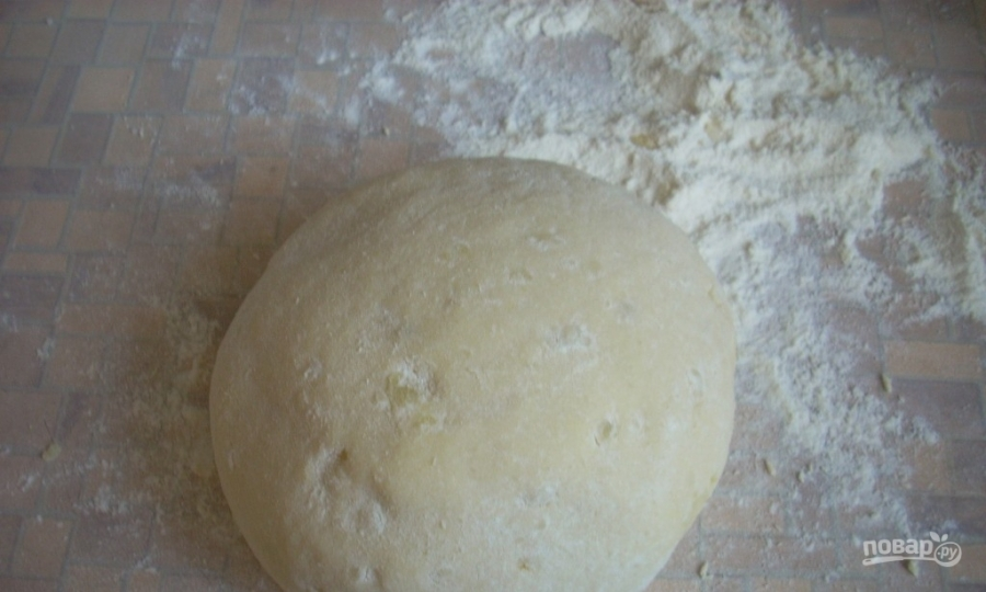 Сосиски в бездрожжевом тесте в духовке - фото шаг 3