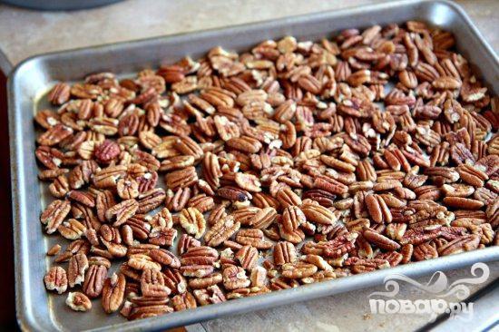 Перевернутый тыквенный пирог с орехами - фото шаг 1