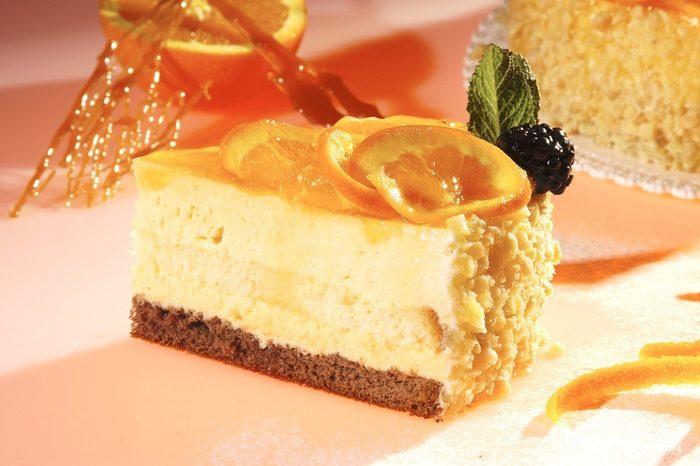 Рецепт Апельсиновый хрустящий торт
