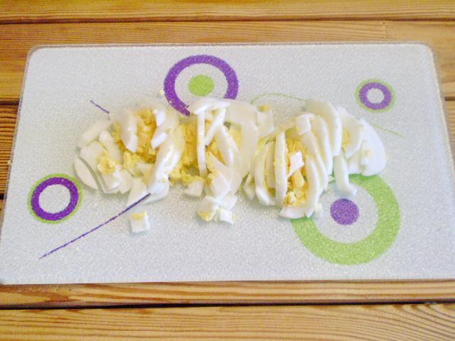Салат к запеченной рыбе - фото шаг 3