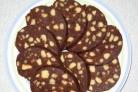 Пирожное Колбаска из печенья