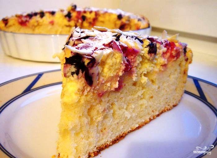 Сливочный пирог с ванилью