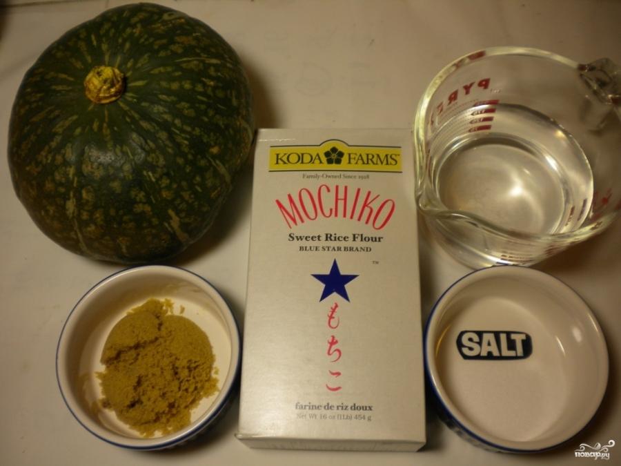 Рецепт Каша из тыквы на воде