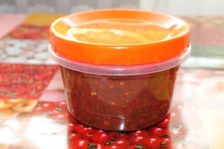 Аджика из помидоров и перца - фото шаг 3