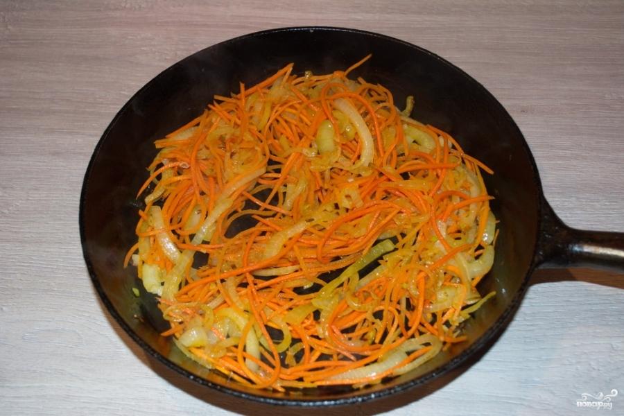 Салат из куриной печени - фото шаг 4