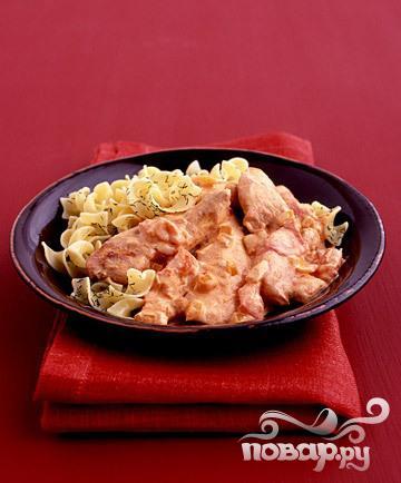 Рецепт Курица с соусом из паприки