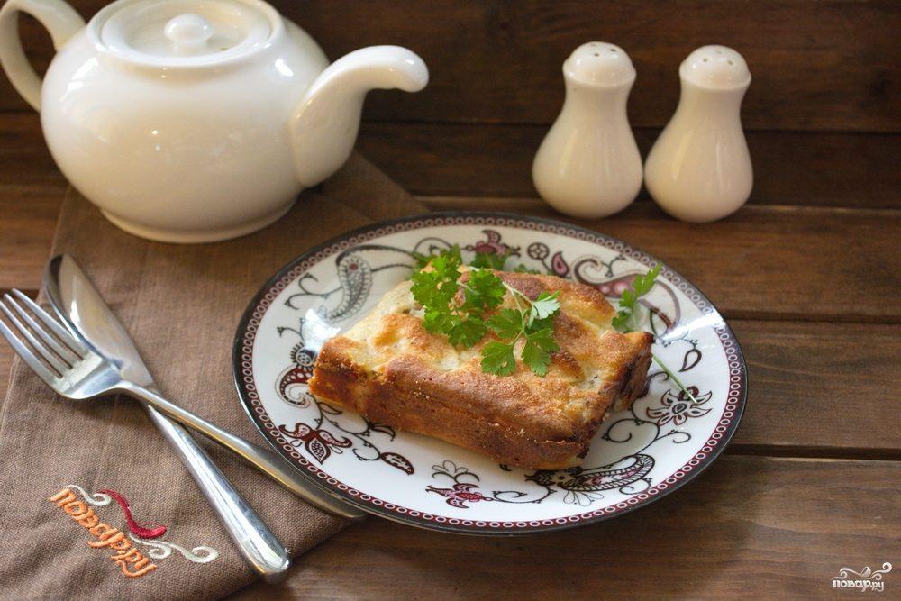 Рецепты из слоеного теста и сыра с фото