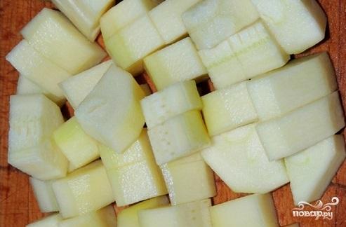 Суп-пюре из брокколи и кабачков - фото шаг 3